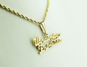 14K Gold Ukrainian Pride