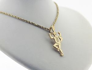14kt Gold Ukrainian Pendant