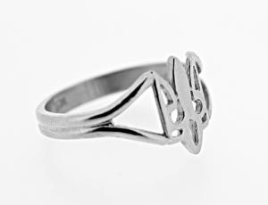 RI_UK-TR_0122_S - Sterling Silver Wire Tryzub Ring