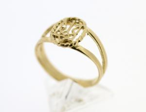 RI_UK-TR_0228_2-72G | 14 kt Gold Ukrainian Tryzub Ring
