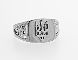 RI_UK-TR_0251_S - Sterling Silver Tryzub Ring