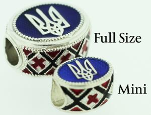 Ukrainian Rushnyk Eternity Bead