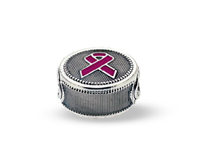 Cancer Awareness Pandora-Style Eternity Bead