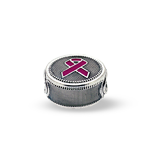 Cancer Awareness Pandora-Style Eternity Bead