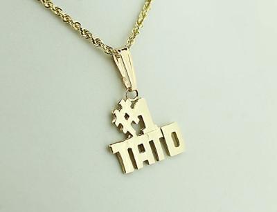 Gold #1 Ukrainian Dad (TATO) Pendant