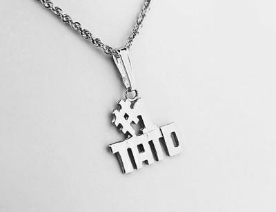 Silver #1 Ukrainian Dad (TATO) Pendant