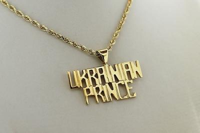 Gold Ukrainian Prince Pendant
