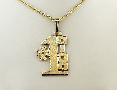 Gold #1 Ukrainian Grandfather (DIDO) Pendant