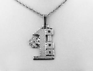 Silver #1 Ukrainian Grandfather (DIDO) Pendant