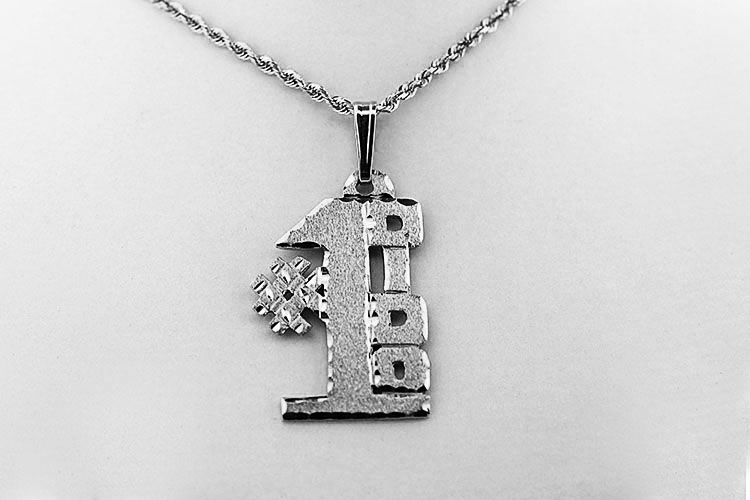 Silver #1 Ukrainian Grandfather (DIDO) Pendant
