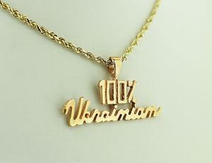 Gold 100% Ukrainian Pendant