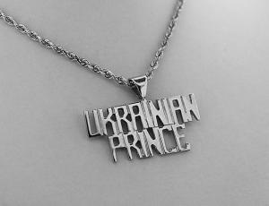 Silver Ukrainian Prince Pendant