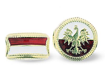 BR_ET-BE_PE-G - Polish Eagle Pandora-Style Eternity Bead