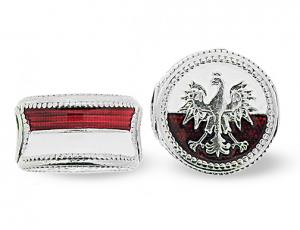 BR_ET-BE_PE-S-72 - Polish Eagle Pandora-Style Eternity Bead