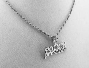 Sterling Silver Polish Pendant for Necklace - Polish Princess