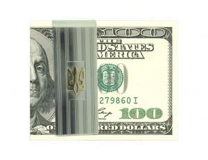 Ukrainian Flat Tryzub Money Clip
